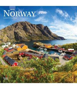 Browntrout Noorwegen / Norway Kalender 2019