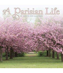 Graphique de France A Parisian Life Kalender 2019