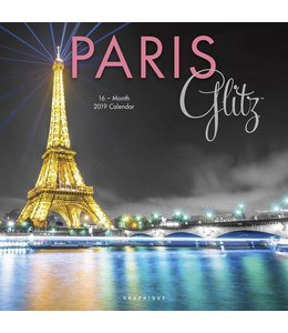 Graphique de France Paris Kalender 2019 Glitz