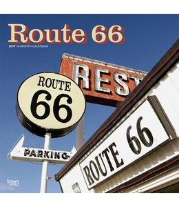 Browntrout Route 66 Kalender 2019
