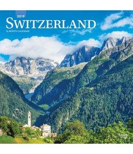 Browntrout Zwitserland / Switzerland Kalender 2019