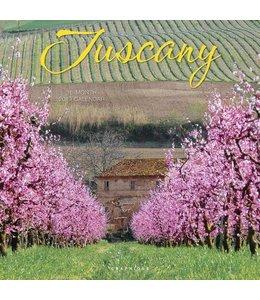 Graphique de France Tuscany Kalender 2019