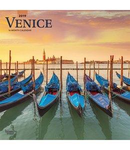 Browntrout Venice Kalender 2019