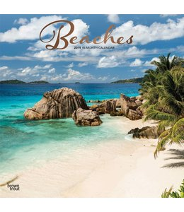 Browntrout Beaches Kalender 2019