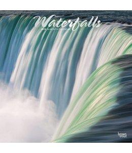 Browntrout Waterfalls Kalender 2019