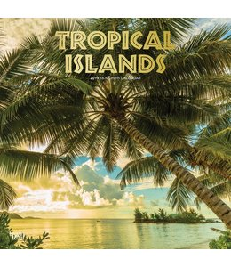 Browntrout Tropical Islands Kalender 2019