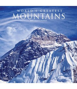 Browntrout Worlds Greatest Mountains Kalender 2019