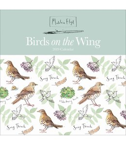 CarouselCalendars Madeleine Floyd Birds on the Wing Kalender 2019