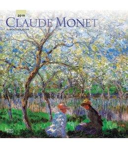 Browntrout Claude Monet Kalender 2019