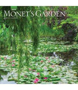 Browntrout Monet's Garden Kalender 2019