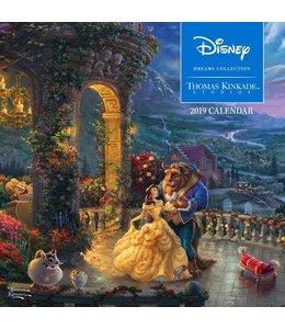 Andrews McMeel Thomas Kinkade Kalender 2019 Disney