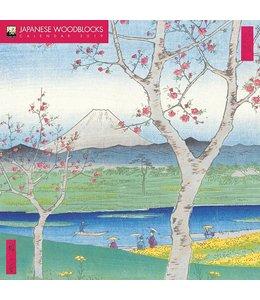 Flame Tree Japanese Woodblocks Kalender 2019
