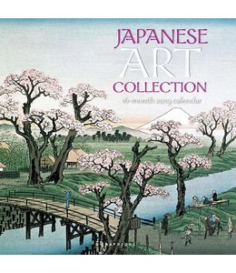Graphique de France Japanese Art Kalender 2019
