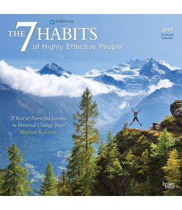 Browntrout The 7 Habits Kalender 2019