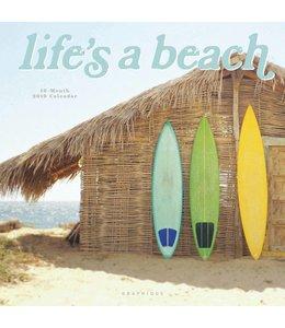Graphique de France Life's a Beach Kalender 2019