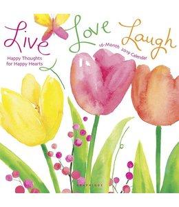 Graphique de France Live Love Laugh Kalender 2019