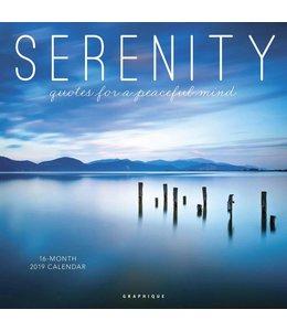 Graphique de France Serenity Kalender 2019