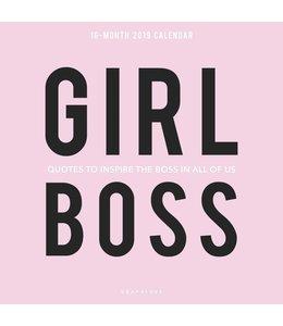 Graphique de France Girl Boss Kalender 2019