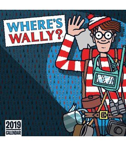 CarouselCalendars Where's Wally Kalender 2019