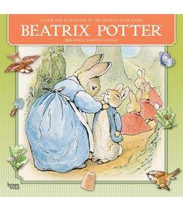 Browntrout Beatrix Potter Kalender 2019