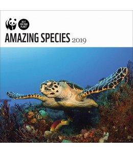 CarouselCalendars WWF Amazing Species Kalender 2019