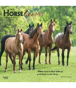 Browntrout Horse Lovers Kalender 2019