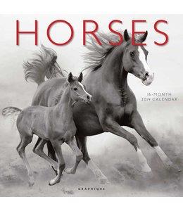 Graphique de France Paarden Kalender 2019