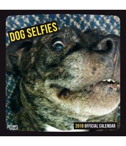 Browntrout Dog Selfies Kalender 2019