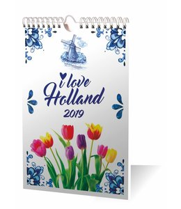 Inter-Stat I Love Holland Weekkalender 2019