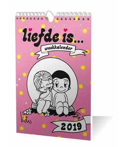 Inter-Stat Liefde is Weekkalender 2019
