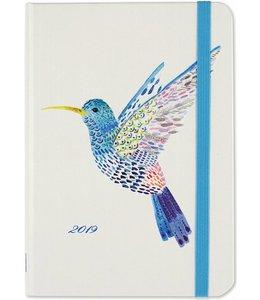 Peter Pauper Watercolor Hummingbird Agenda 2019