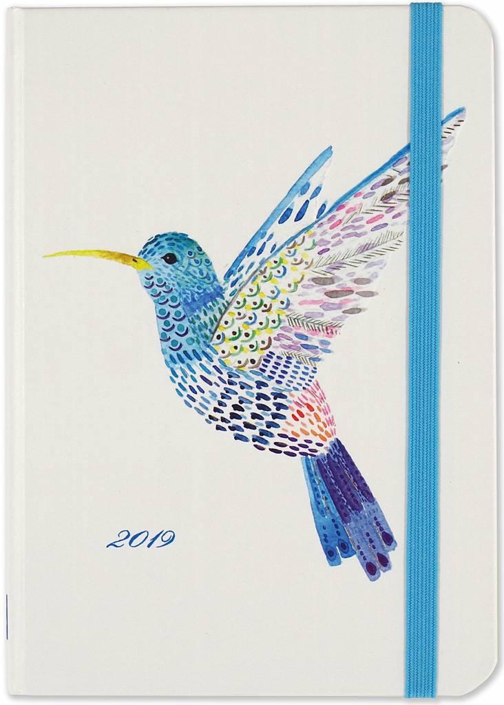 Watercolor Hummingbird Agenda 2019