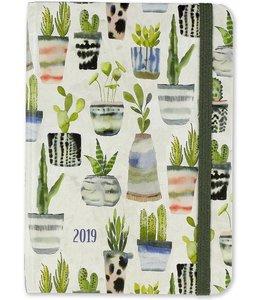 Peter Pauper Watercolor Succulents Agenda 2019