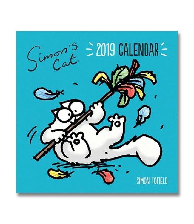 Portico Simon's Cat Kalender 2019 Portico