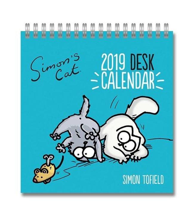 Portico Simon's Cat Deskkalender 2019
