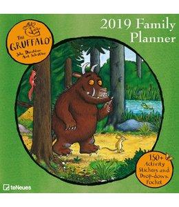 teNeues Publishing Gruffalo Kalender 2019 Familie Organizer
