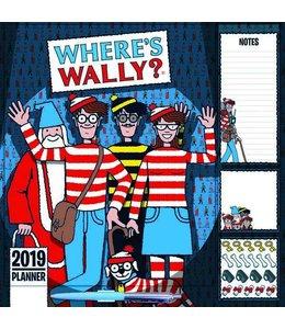 CarouselCalendars Where's Wally Familie Planner 2019