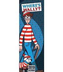 CarouselCalendars Where's Wally Kalender 2019 Slimline