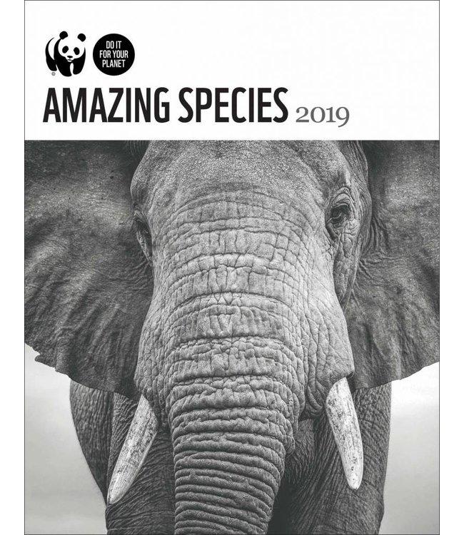 CarouselCalendars WWF Amazing Species Agenda 2019