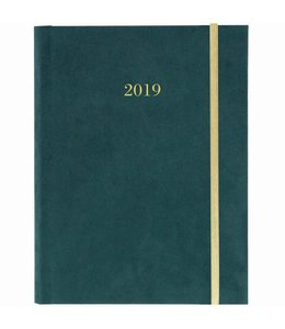 Graphique de France Forest Green A5 Agenda 2019