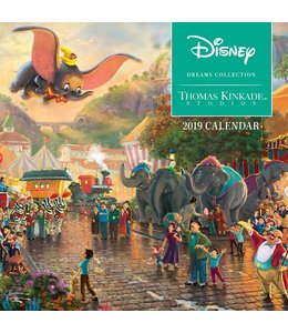 Andrews McMeel Thomas Kinkade Disney Mini Kalender 2019