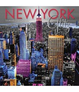 Graphique de France New York Glitz Mini Kalender 2019