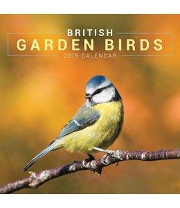 CarouselCalendars Garden Birds Kalender 2019 Mini