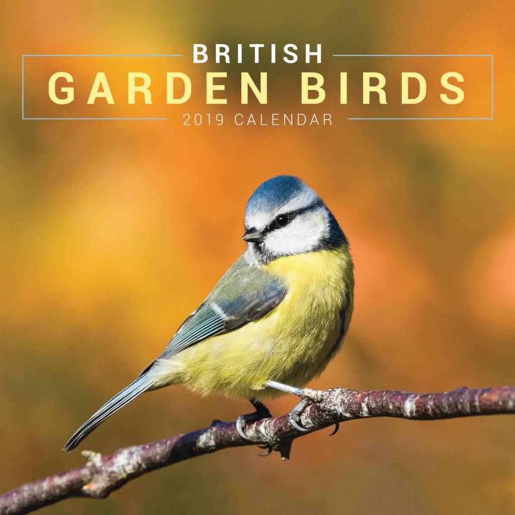 Garden Birds Kalender 2019 Mini
