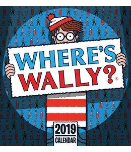 CarouselCalendars Wheres Wally Deskkalender 2019