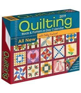Andrews McMeel Quilting Activity Kalender 2019 Boxed