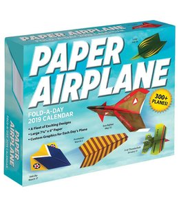 Andrews McMeel Paper Airplane Activity Kalender 2019 Boxed