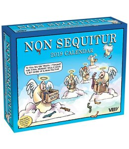 Andrews McMeel Non Sequitur Kalender 2019 Boxed