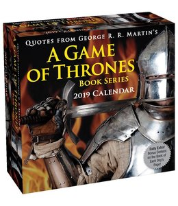 Andrews McMeel A Game of Thrones Boxed Kalender 2019