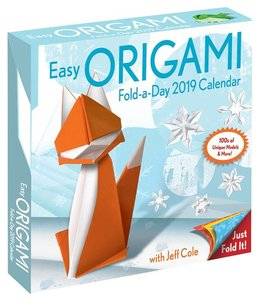 Andrews McMeel Origami Activity Kalender 2019 Boxed
